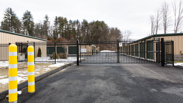 All-Star Storage New Hartford CT Facility Gates