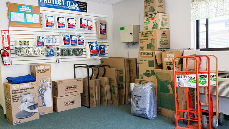 Moving and Packing Supplies at All-Star Storage Torrington CT