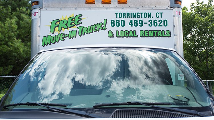 Free Moving Trucks at All-Star Storage in Torrington CT